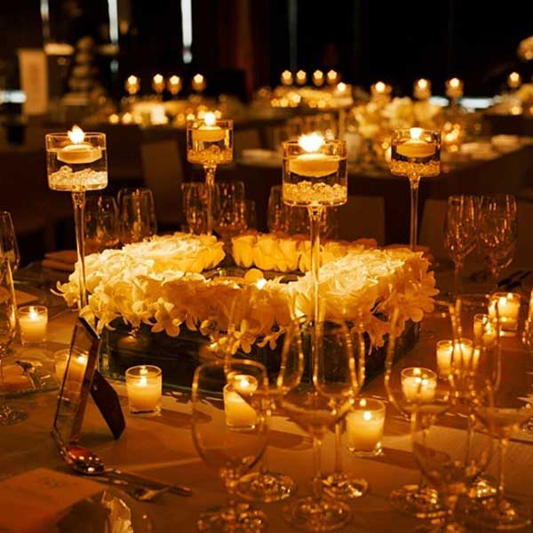 Centrepiece magic bindiweddings