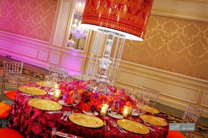 table seating in wedding