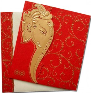 ganesha invitation card
