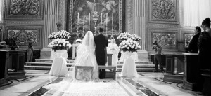 Italian priest gives money for wedding