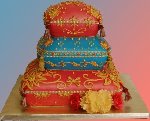 eggless cake for Indian weddings