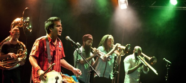 Red Baraat: Indian wedding sounds with attitude
