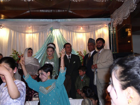 Lavish Afghan wedding