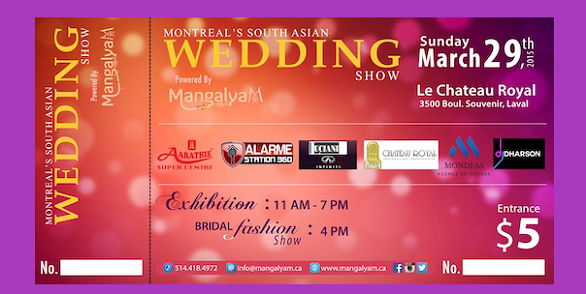 Montreal South Asian Wedding Show - Mangalyam!
